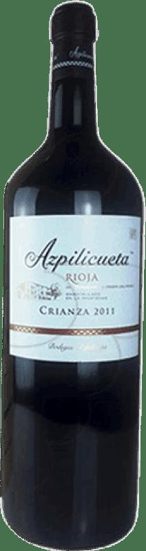 61,95 € | Red wine Campo Viejo Azpilicueta Crianza D.O.Ca. Rioja The Rioja Spain Tempranillo, Graciano, Mazuelo, Carignan Special Bottle 5 L
