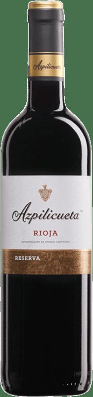 13,95 € Envío gratis | Vino tinto Campo Viejo Azpilicueta Reserva D.O.Ca. Rioja La Rioja España Tempranillo, Graciano, Mazuelo, Cariñena Botella 75 cl