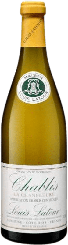 24,95 € 免费送货 | 白酒 Louis Latour Chanfleure Crianza A.O.C. Chablis 法国 Chardonnay 瓶子 75 cl