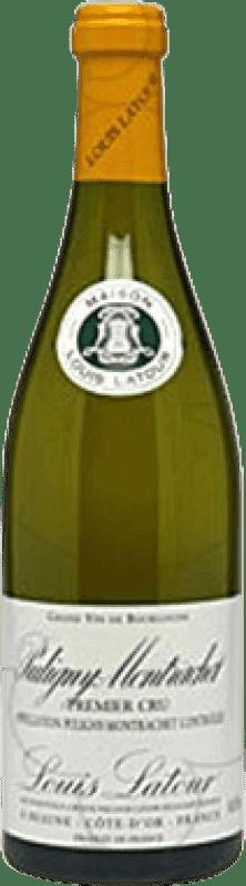 84,95 € Envío gratis | Vino blanco Louis Latour 1er Cru Crianza A.O.C. Chassagne-Montrachet Francia Chardonnay Botella 75 cl