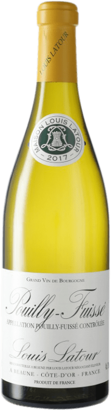 29,95 € Free Shipping | White wine Louis Latour Crianza A.O.C. Pouilly-Fuissé France Chardonnay Bottle 75 cl