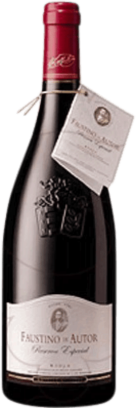 25,95 € | Red wine Faustino Autor Reserva D.O.Ca. Rioja The Rioja Spain Tempranillo, Graciano Bottle 75 cl