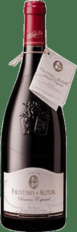 25,95 € Envoi gratuit   Vin rouge Faustino Autor Reserva D.O.Ca. Rioja La Rioja Espagne Tempranillo, Graciano Bouteille 75 cl