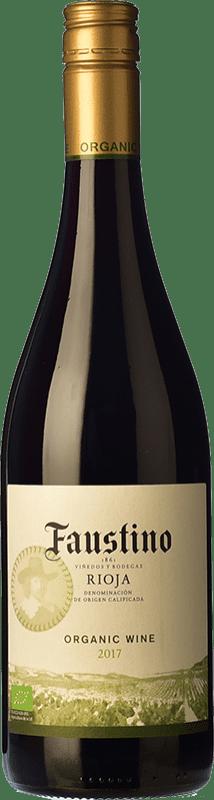 5,95 € Envoi gratuit   Vin rouge Faustino Organic Joven D.O.Ca. Rioja La Rioja Espagne Tempranillo Bouteille 75 cl