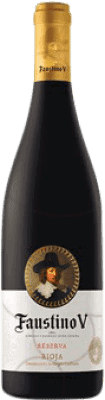 6,95 € | Red wine Faustino V Negre Reserva D.O.Ca. Rioja The Rioja Spain Tempranillo, Mazuelo, Carignan Half Bottle 37 cl