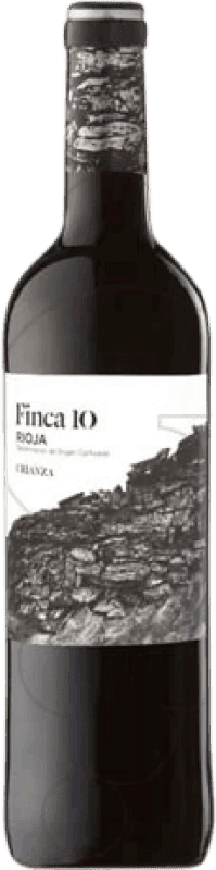 4,95 € | Red wine Faustino Finca 10 Crianza D.O.Ca. Rioja The Rioja Spain Tempranillo Bottle 75 cl