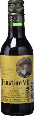 1,95 € | Rosé wine Faustino VII Joven D.O.Ca. Rioja The Rioja Spain Tempranillo, Grenache Small Bottle 18 cl