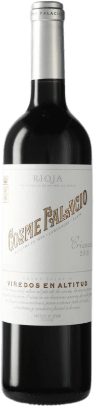 12,95 € Free Shipping | Red wine Palacio Cosme Palacio Crianza D.O.Ca. Rioja The Rioja Spain Bottle 75 cl