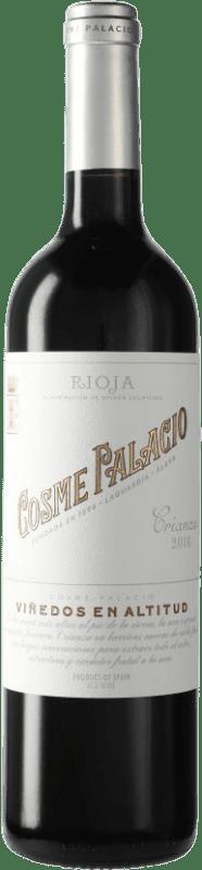 12,95 € Envío gratis | Vino tinto Palacio Cosme Palacio Crianza D.O.Ca. Rioja La Rioja España Botella 75 cl