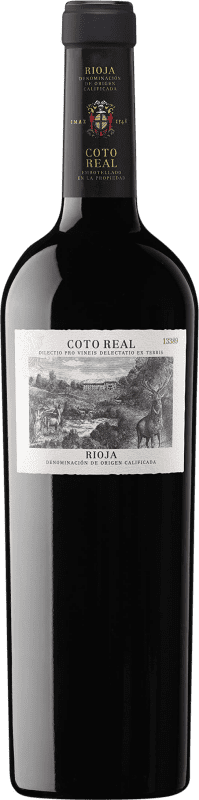 17,95 € | Red wine Coto de Rioja Coto Real Reserva D.O.Ca. Rioja The Rioja Spain Tempranillo, Grenache, Graciano, Mazuelo, Carignan Bottle 75 cl