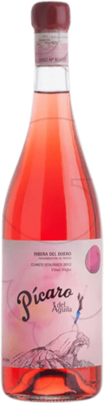 23,95 € | Rosé wine Dominio del Águila Pícaro Crianza D.O. Ribera del Duero Castilla y León Spain Tempranillo, Grenache, Bobal Bottle 75 cl