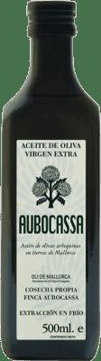 16,95 € Envío gratis | Aceite Bodegas Roda Oli Aubocassa España Media Botella 50 cl