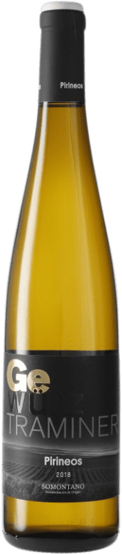 11,95 € | White wine Pirineos Joven D.O. Somontano Aragon Spain Gewürztraminer Bottle 75 cl