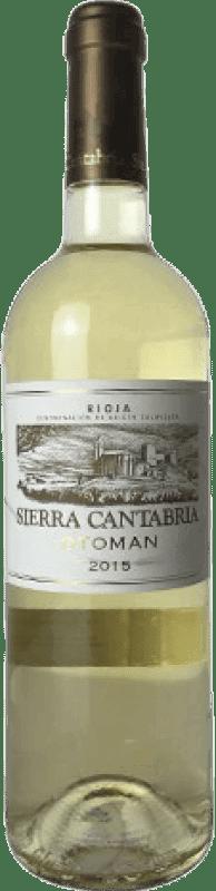 9,95 € Free Shipping   White wine Sierra Cantabria Otoman Joven D.O.Ca. Rioja The Rioja Spain Malvasía, Macabeo, Sauvignon White Bottle 75 cl