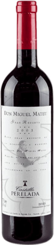 17,95 € | Red wine Perelada Don Miguel Mateu Especial Reserva D.O. Empordà Catalonia Spain Merlot, Syrah, Grenache, Cabernet Sauvignon, Mazuelo, Carignan Bottle 75 cl
