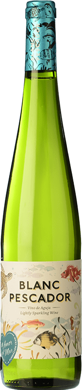 4,95 € Free Shipping | White sparkling Perelada Pescador Catalonia Spain Macabeo, Xarel·lo, Parellada Bottle 75 cl