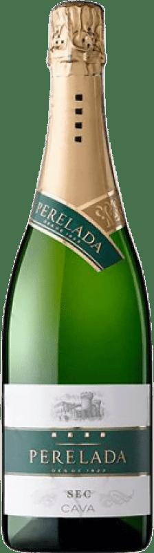 5,95 € 免费送货   白起泡酒 Perelada 干 D.O. Cava 加泰罗尼亚 西班牙 Macabeo, Xarel·lo, Parellada 瓶子 75 cl