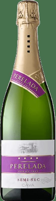 5,95 € Envoi gratuit   Blanc moussant Perelada Demi Sec D.O. Cava Catalogne Espagne Macabeo, Xarel·lo, Parellada Bouteille 75 cl