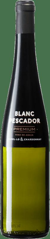 7,95 € Free Shipping | White sparkling Perelada Premium Pescador Catalonia Spain Xarel·lo, Chardonnay Bottle 75 cl