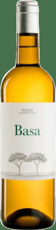 7,95 € Envío gratis | Vino blanco Telmo Rodríguez Basa Joven D.O. Rueda Castilla y León España Botella 75 cl