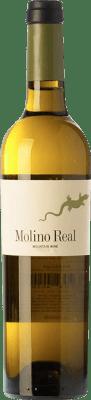 37,95 € Envío gratis | Vino generoso Telmo Rodríguez Molino Real D.O. Sierras de Málaga Andalucía y Extremadura España Moscatel Media Botella 50 cl