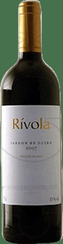 12,95 € 免费送货 | 红酒 Abadía Retuerta Rívola Crianza I.G.P. Vino de la Tierra de Castilla y León 卡斯蒂利亚莱昂 西班牙 Tempranillo, Cabernet Sauvignon 瓶子 75 cl