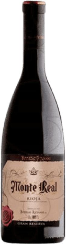 23,95 € | Red wine Bodegas Riojanas Monte Real Gran Reserva D.O.Ca. Rioja The Rioja Spain Tempranillo, Graciano, Mazuelo, Carignan Magnum Bottle 1,5 L