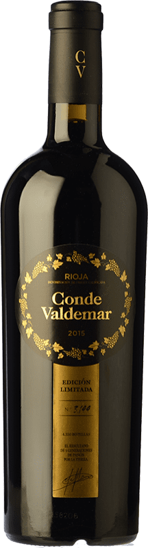 28,95 € Free Shipping | Red wine Valdemar Conde de Valdemar Edición Limitada D.O.Ca. Rioja The Rioja Spain Tempranillo, Graciano, Maturana Tinta Bottle 75 cl