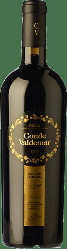 28,95 € Envío gratis | Vino tinto Valdemar Conde de Valdemar Edición Limitada D.O.Ca. Rioja La Rioja España Tempranillo, Graciano, Maturana Tinta Botella 75 cl