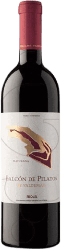 16,95 € Free Shipping | Red wine Valdemar Inspiración Balcón de Pilatos Crianza D.O.Ca. Rioja The Rioja Spain Maturana Tinta Bottle 75 cl