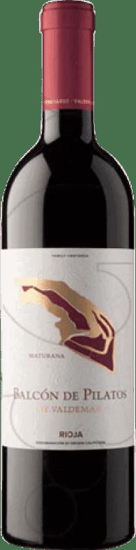 16,95 € Envío gratis | Vino tinto Valdemar Inspiración Balcón de Pilatos Crianza D.O.Ca. Rioja La Rioja España Maturana Tinta Botella 75 cl