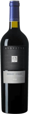 4,95 € Free Shipping | Red wine Augustus D.O. Penedès Catalonia Spain Merlot, Syrah Half Bottle 37 cl