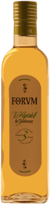 9,95 € Envío gratis | Vinagre Augustus Chardonnay Forum España Chardonnay Media Botella 50 cl