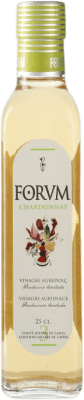 6,95 € Free Shipping | Vinegar Augustus Chardonnay Forum Spain Chardonnay Small Bottle 25 cl