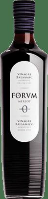 7,95 € Envío gratis | Vinagre Augustus Merlot Forum España Merlot Media Botella 50 cl
