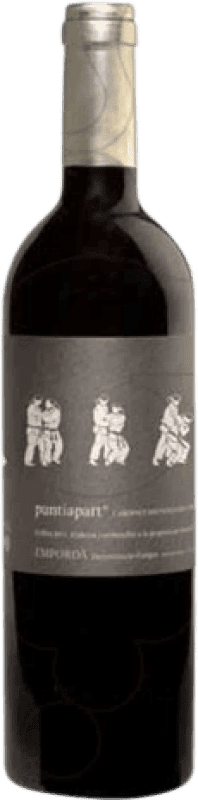 13,95 € Envío gratis | Vino tinto La Vinyeta Punt i a Part Crianza D.O. Empordà Cataluña España Cabernet Sauvignon, Mazuelo, Cariñena Botella 75 cl
