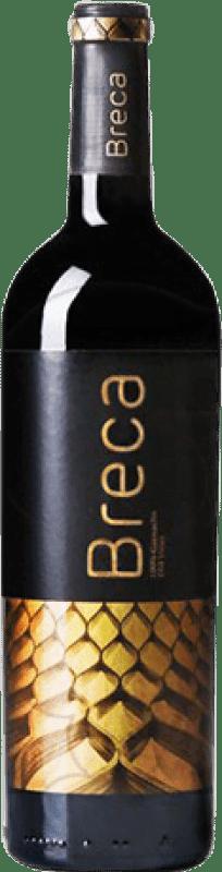22,95 € Free Shipping | Red wine Breca Crianza D.O. Calatayud Aragon Spain Grenache Magnum Bottle 1,5 L