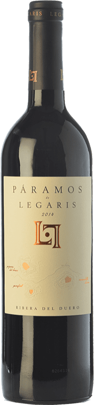 19,95 € Envoi gratuit | Vin rouge Legaris Páramos D.O. Ribera del Duero Castille et Leon Espagne Tempranillo Bouteille 75 cl
