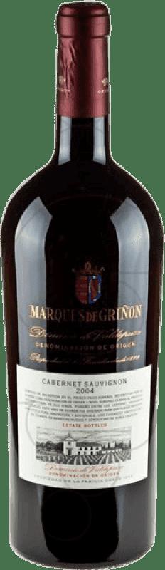 49,95 € Envío gratis | Vino tinto Marqués de Griñón D.O.P. Vino de Pago Dominio de Valdepusa Castilla la Mancha y Madrid España Cabernet Sauvignon Botella Mágnum 1,5 L