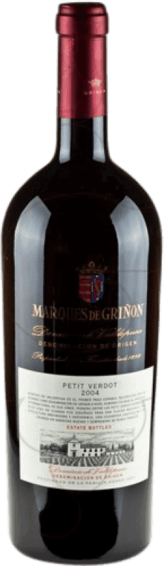 48,95 € 免费送货 | 红酒 Marqués de Griñón D.O.P. Vino de Pago Dominio de Valdepusa Castilla la Mancha y Madrid 西班牙 Petit Verdot 瓶子 Magnum 1,5 L