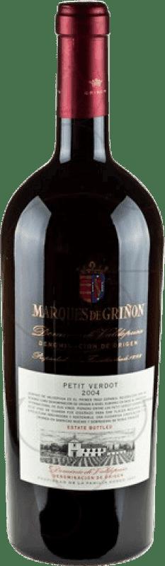 48,95 € Envío gratis | Vino tinto Marqués de Griñón D.O.P. Vino de Pago Dominio de Valdepusa Castilla la Mancha y Madrid España Petit Verdot Botella Mágnum 1,5 L