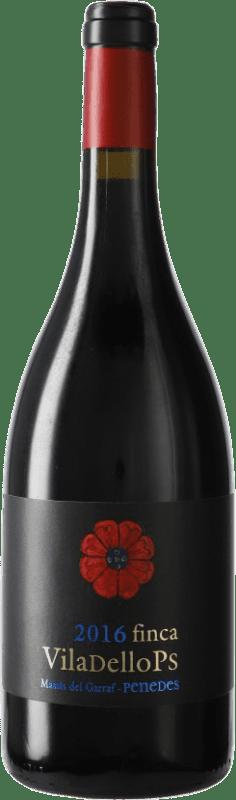 11,95 € 免费送货 | 红酒 Finca Viladellops Crianza D.O. Penedès 加泰罗尼亚 西班牙 Syrah, Grenache 瓶子 75 cl
