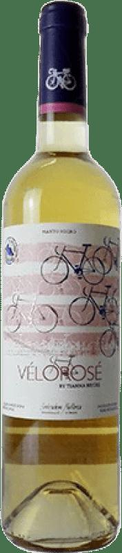 12,95 € Envío gratis | Vino rosado Tianna Negre Vélo Rosé Joven D.O. Binissalem Islas Baleares España Mantonegro Botella 75 cl