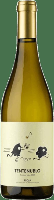 14,95 € 免费送货 | 白酒 Tentenublo Joven D.O.Ca. Rioja 拉里奥哈 西班牙 Malvasía, Macabeo 瓶子 75 cl