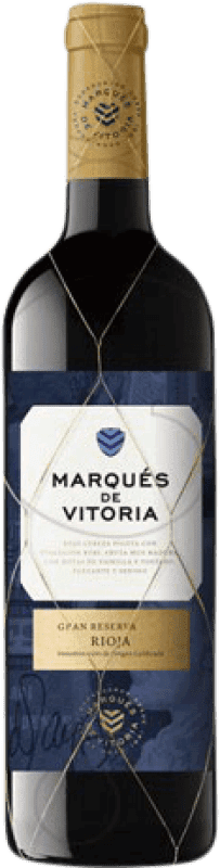 17,95 € | Red wine Marqués de Vitoria Gran Reserva D.O.Ca. Rioja The Rioja Spain Tempranillo Bottle 75 cl