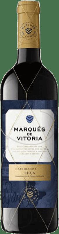 19,95 € Envoi gratuit | Vin rouge Marqués de Vitoria Gran Reserva D.O.Ca. Rioja La Rioja Espagne Tempranillo Bouteille 75 cl