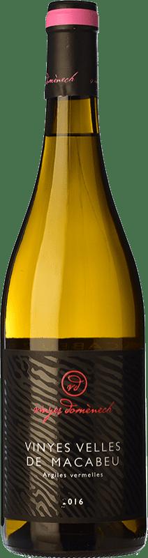 18,95 € Envoi gratuit | Vin blanc Domènech Crianza D.O. Montsant Catalogne Espagne Macabeo Bouteille 75 cl