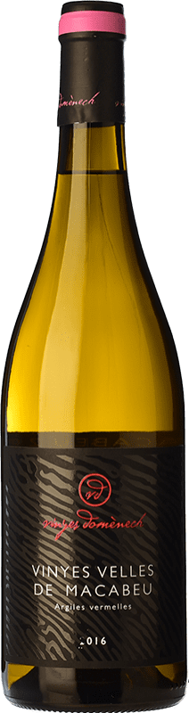 18,95 € Free Shipping | White wine Domènech Crianza D.O. Montsant Catalonia Spain Macabeo Bottle 75 cl