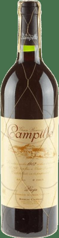 38,95 € Free Shipping | Red wine Campillo Gran Reserva D.O.Ca. Rioja The Rioja Spain Tempranillo Bottle 75 cl