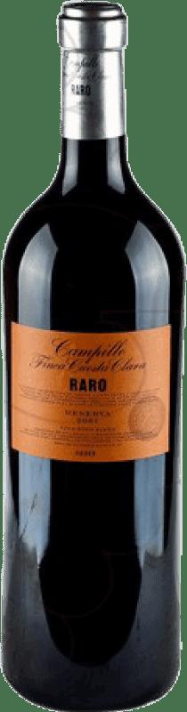 113,95 € Envío gratis | Vino tinto Campillo Raro 2010 D.O.Ca. Rioja La Rioja España Tempranillo Botella Jéroboam-Doble Mágnum 3 L
